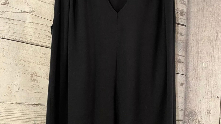 Womens / Ladies DKNY black Vest Top Size Small - Excellent Condition