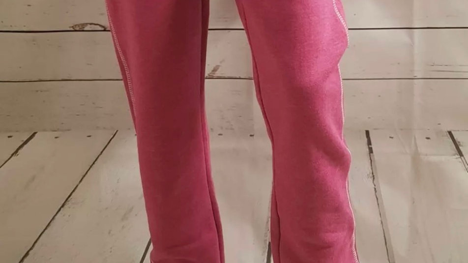 Womens / Ladies Everlast Pink Jogging Bottoms Pants Size medium  New With Tags