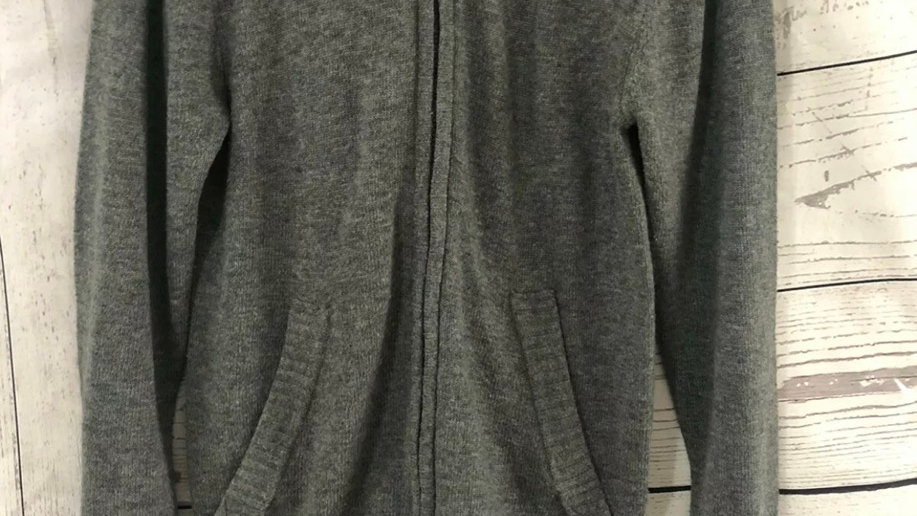 Mens H&M Grey Full Zip Hoodie Cardigan Size Small - Immaculate Condition