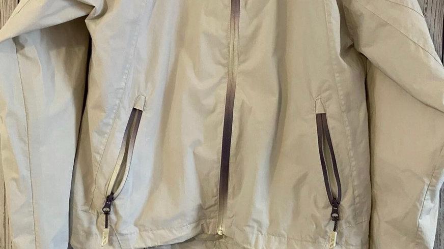 Womens / Ladies Trespass Beige Waterproof Jacket Size Medium - Good Condition
