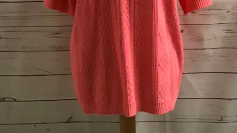 Women's / ladies pink Glimpse knit jumper size M/ L New