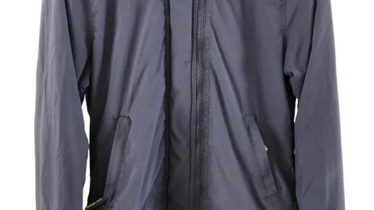 Superdry Windcheater Navy Coat Size Medium- Excellent Condition