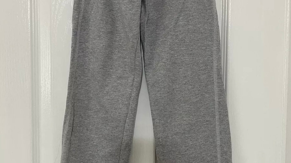 Girls Mothercare Grey Tracksuit Jogging Pants Trousers Age 5-6 Years Excellent