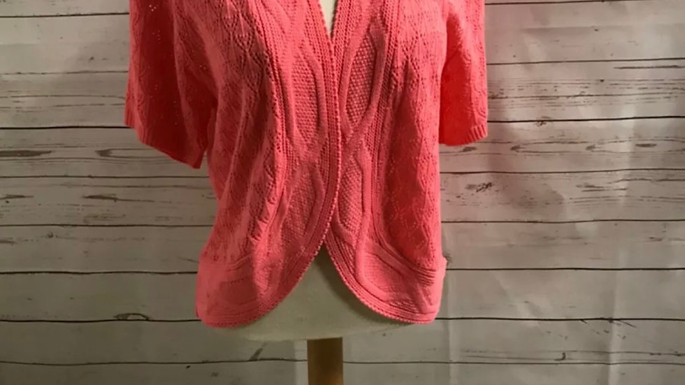 Womens / Ladies Glimpse Design Knitted PInkCardigan Size S/M  NEW