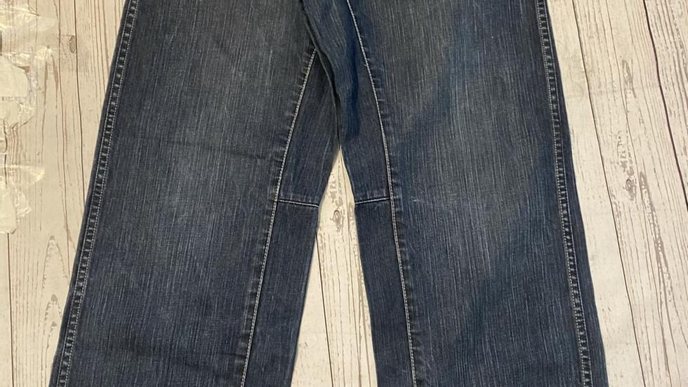 """Mens Topman Ringer Vintage Fit Denim Jeans 34"""" Waist 34"""" Leg Excellent Condition"""
