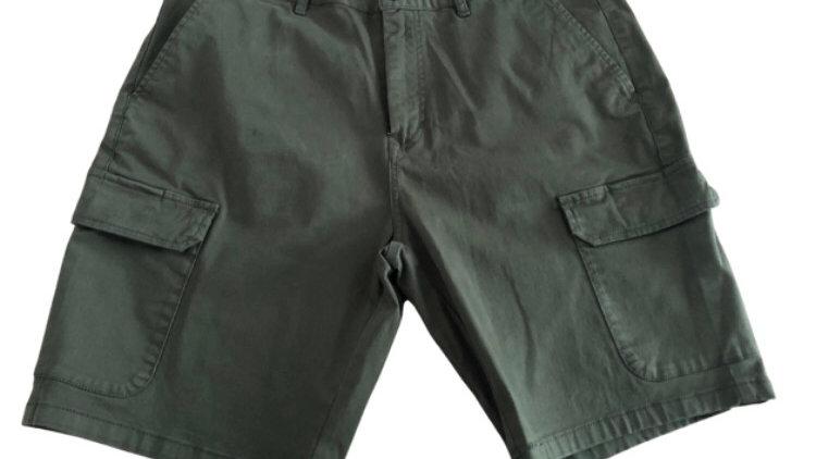 "Mens Morley Dark Green Cargo Shorts Size 36"" Waist - Immaculate Condition"