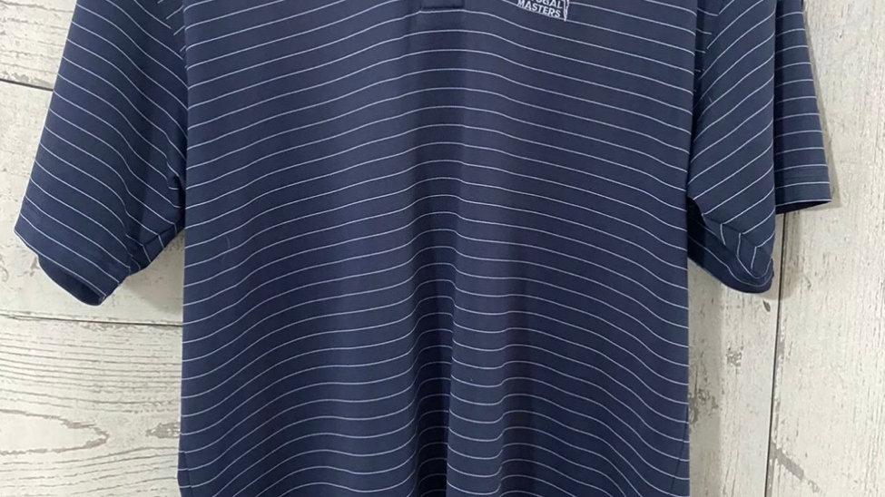 Mens Oceanico Golf Portugal Master Blue Stripe T-Shirt Size Medium Immaculate