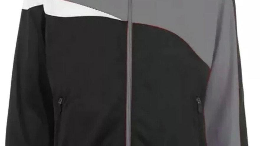 Sondico Mens Track Jacket Grey Full Zip Stylish Sports Coat Football Size Medium
