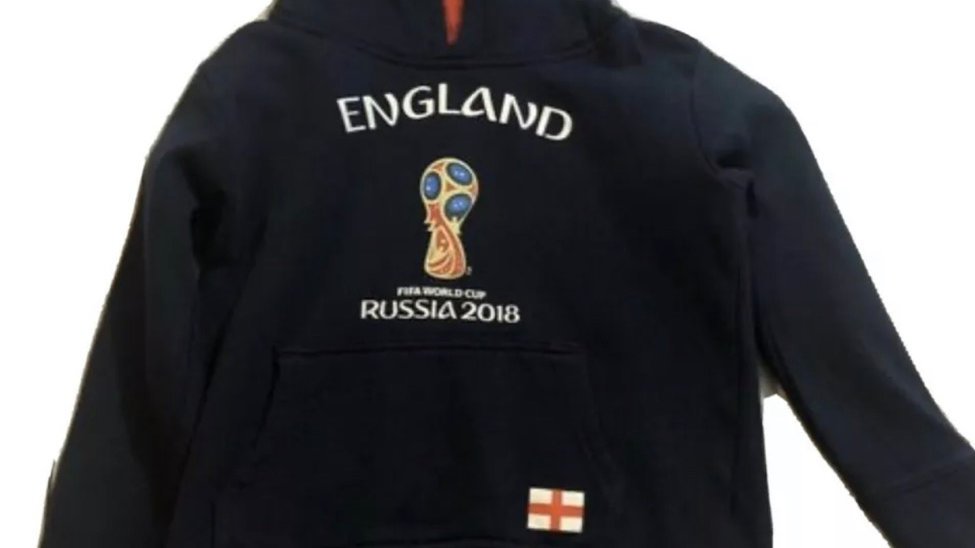 Boys Navy Fifa 2019 World Cup Russia Hoodie Age 3-4 Years - Immaculate
