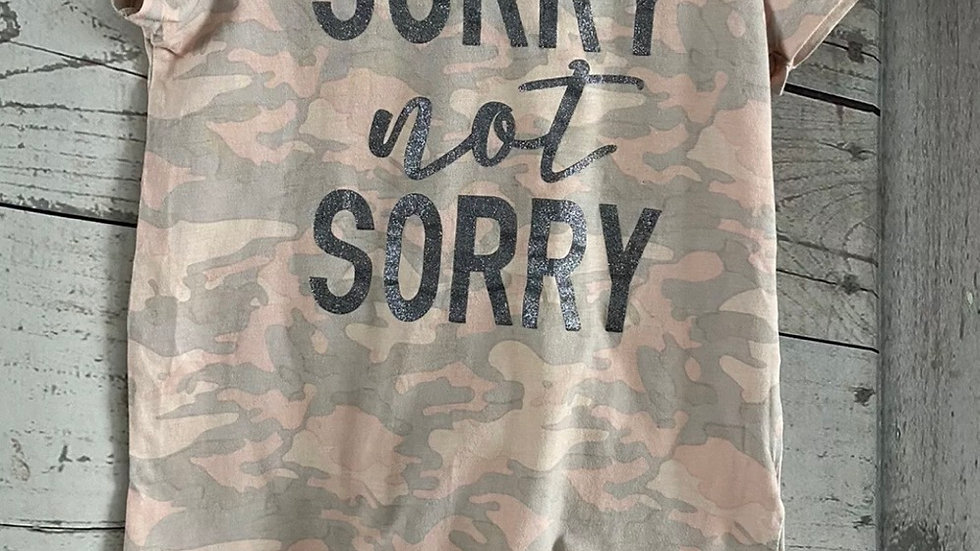 Girls Primark Pink Camo T-Shirt Age 9-10 Immaculate Condition