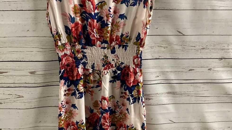Womens / Ladies Indulgence Floral Summer Dress Size S/M - Immaculate Condition