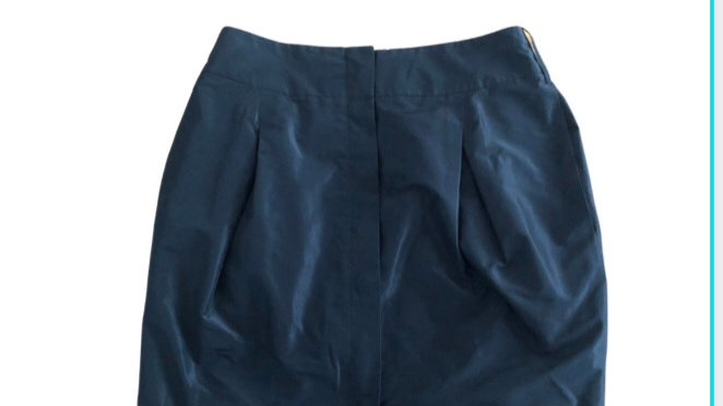 Womens / Ladies Oasis Black Skirt Size 10 Excellent Condition