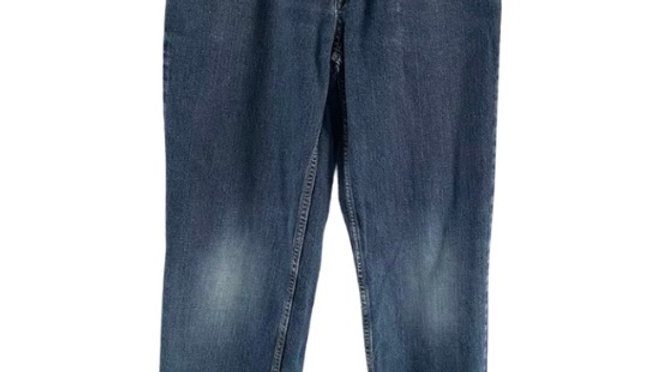 Boys Indigo Blue Denim Jeans age  12 Immaculate Condition
