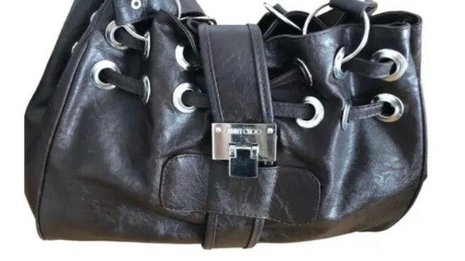 Womens / Ladies Jimmy Choo Brown Handbag - Excellent Condition