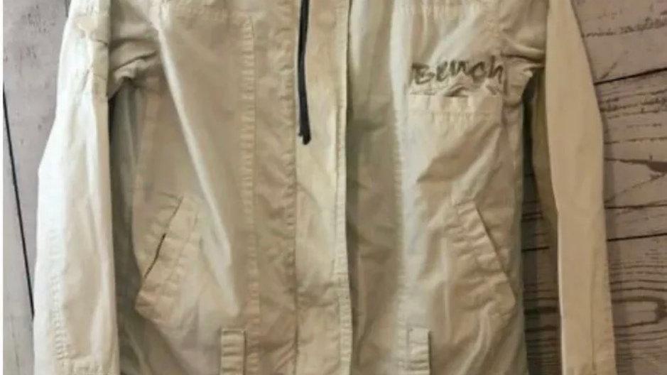 Womens / Ladies Bench Beige Cream Zip Jacker Size Smal Approx 8 Excellent