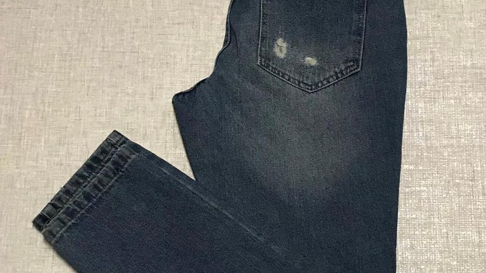 Womens / Ladies Next Blue Denim Boyfriend Jeans Size 8 Immaculate Condition