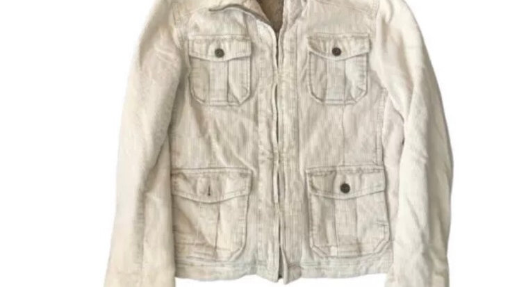Womens / Ladies River Island Corded Beige Size 12  Excellent Condition