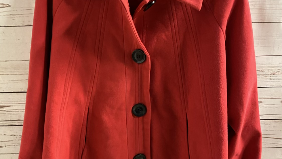 Womens / Ladies TG Red Coat Size 16 Excellent Condition
