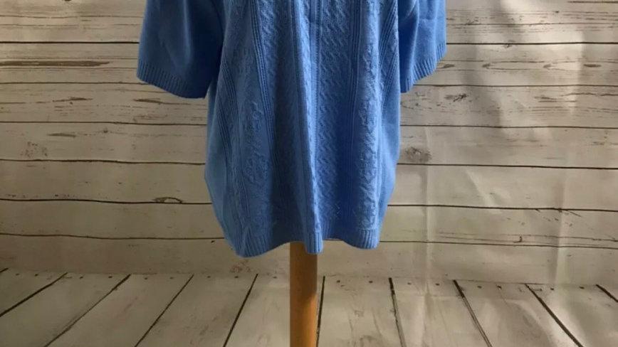 Women's/ ladies blue Glimpse knit jumper size L/XL new