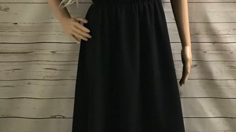 Womens / Ladies Richard Shops Black Dress Size 14 - Immaculate Condition