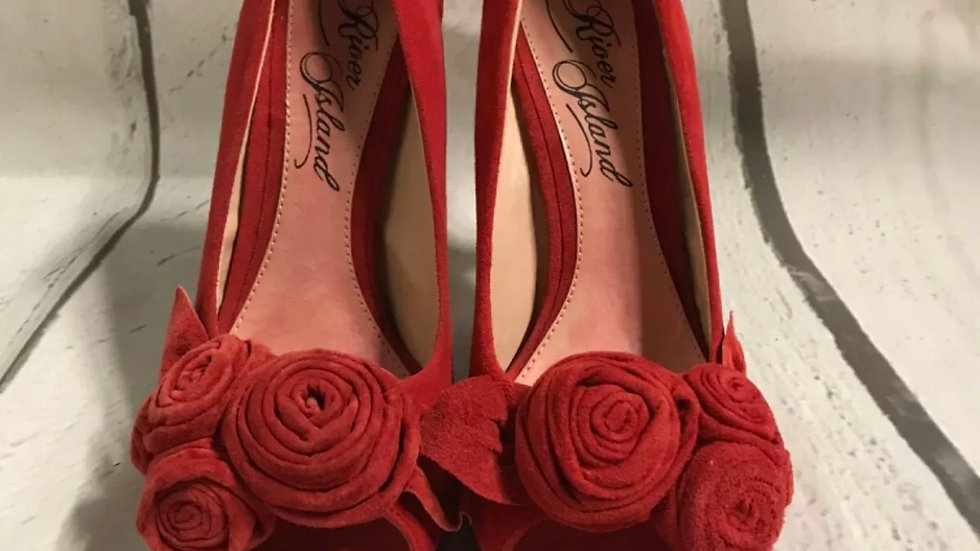 Women's / ladies Red River Island stiletto high heel size 6 immaculate condition