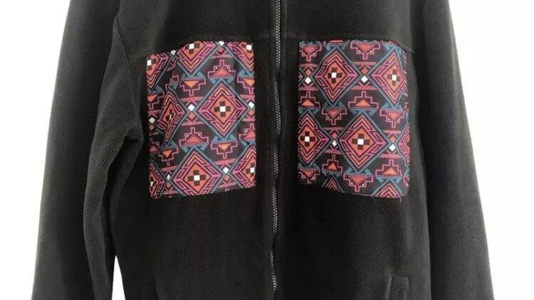 Womens / Ladies Asos Black Full Zip Jacket Size Medium - Excellent Condition