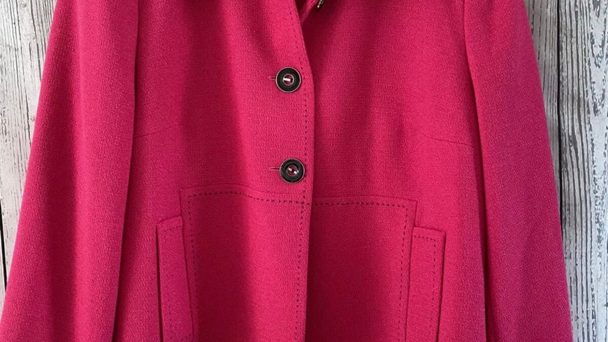 Womens / Ladies Marks & Spencer Hot Pink Blazer Jacket Size 18 Immaculate