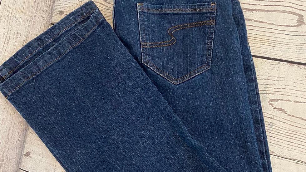 Womens / Ladies Next Blue Denim Bootcut Jeans Size 12 Regular Leg Excellent