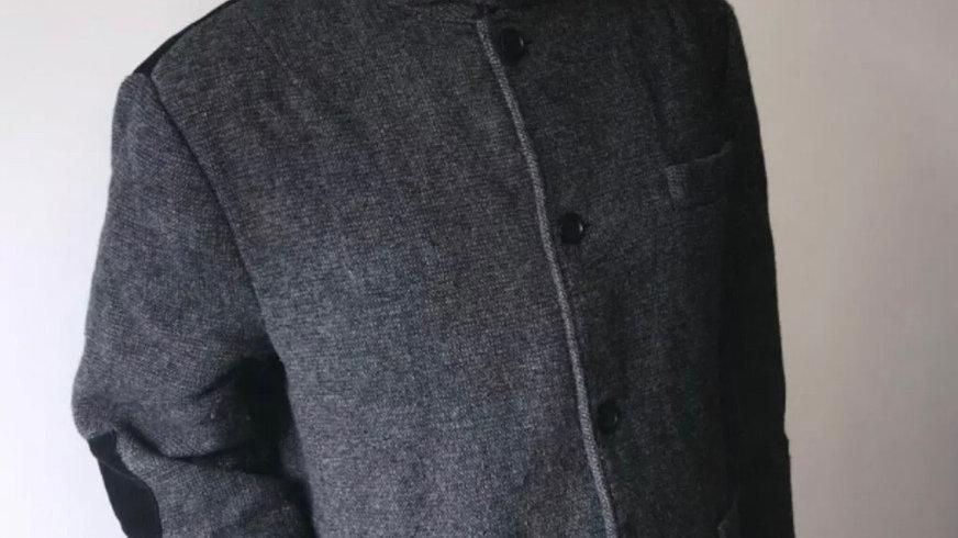 Men's Bellfield charcoal grey coat size XXL good condition