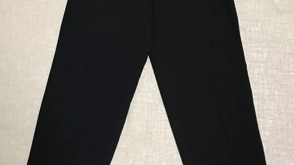 Womens / Ladies Simon Jeffery Navy Casual Trousers Size 12 New With Tags