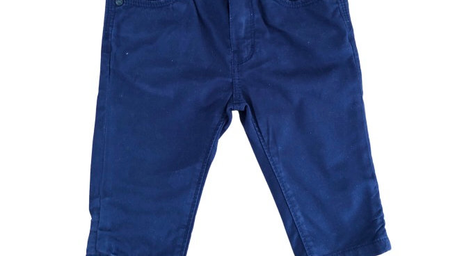 Baby Boys Hugo Boss Navy Jeans Age 6 Months Excellent Condition