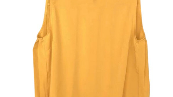 Womens / Ladies French Connection Mustard Yellow Bloue Top Size 8 Excellent