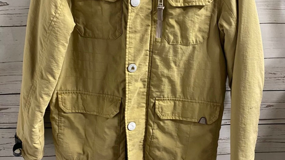 Boys Next Mustard Winter Coat Age 10 Years - See Description