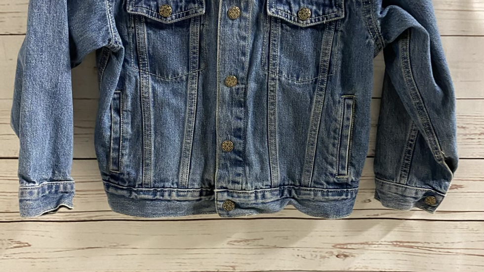 Girls Osh Kosh Blue Denim Jacket Age 7 Years Excellent Condition