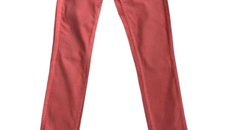 "Womens / Ladies Tommy Hilfiger Pink Denim Jeans Size 25"" Waist  X 30"" Leg"