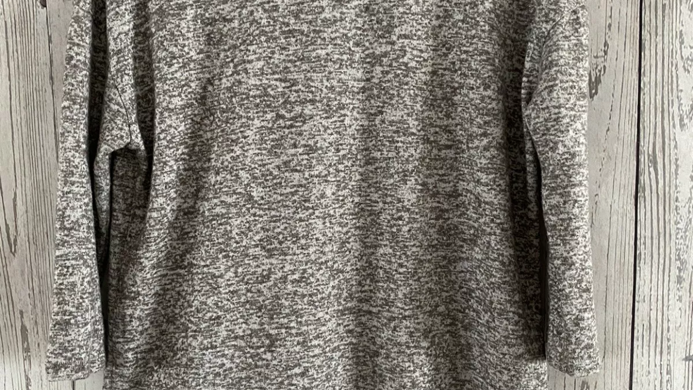 Womens / Ladies Primark Grey 3/4 Sleeve Jumper Size Uk 4-6 Immaculate