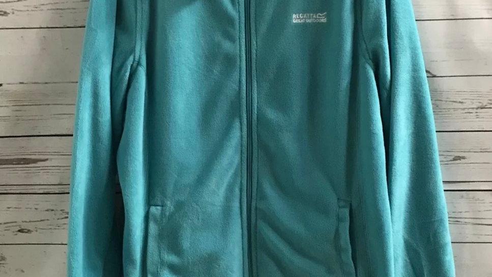 Womens / Ladies Regatta Green Full Zip Fleece Jacket Size 18 - New With Tags
