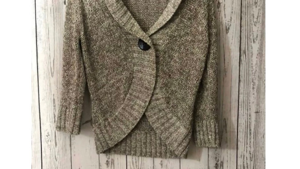 Women's / Ladies Marks & Spencer Brown Knitted Cardigan Size 12 - Immaculate
