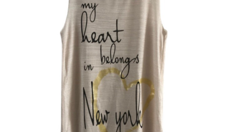 Womens / Ladies River Island Biege Shimmer Vest Top Size 6 Excellent Condition
