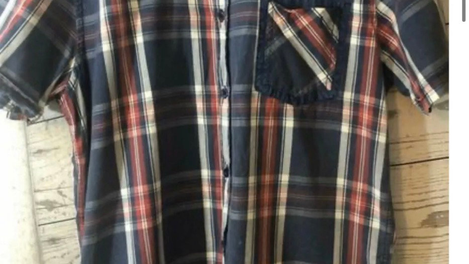 Men's Brave Soul Blue & Red Short Sleeve Check Shirt Size Medium Immaculate