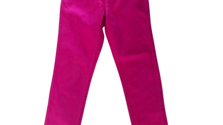 Womens / Ladies White Republic Pink Capri Jeans Size 6 Immaculate