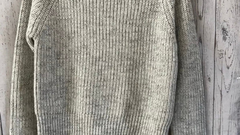 Womens / Ladies New Look Grey Knitted Jumper Size Smal Approx Uk 8. Immaculate