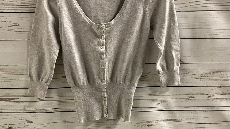 Womens / Ladies Atmosphere Grey Short Cardigsn Size 10 Immaculate Condition