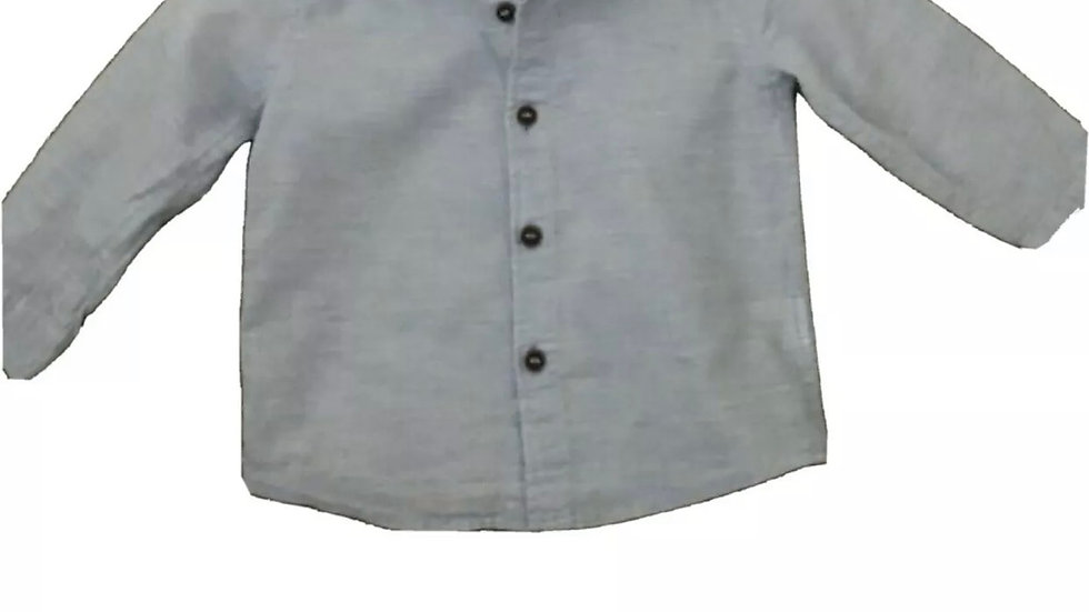 Boys Next Blue Long Sleeve Shirt Age 9-12 Months Immaculate Condition