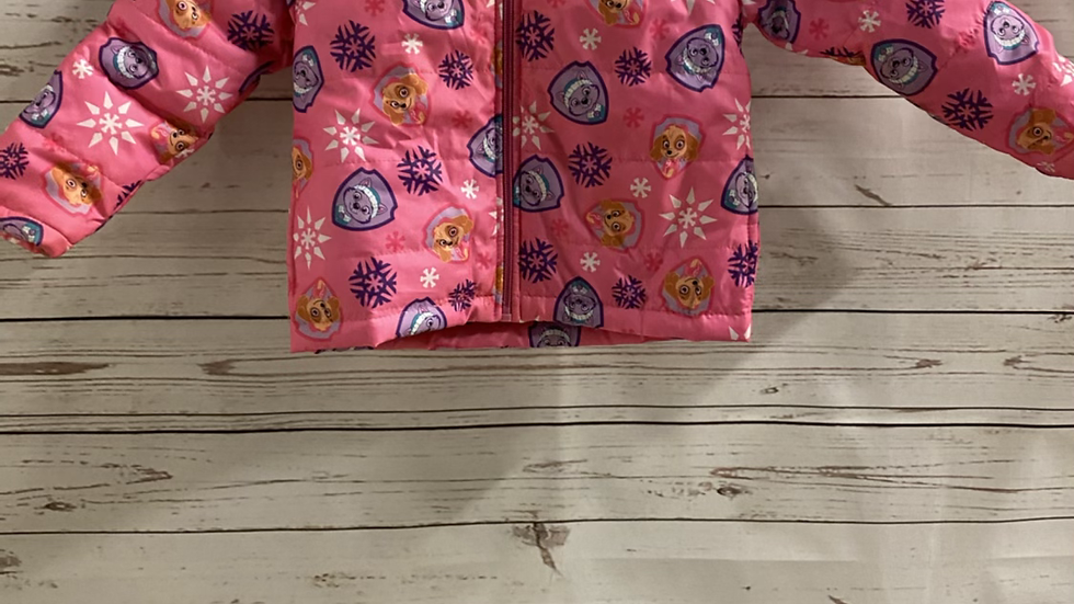 Girls Paw Patrol Pink Coat 2-3 Years Immaculate