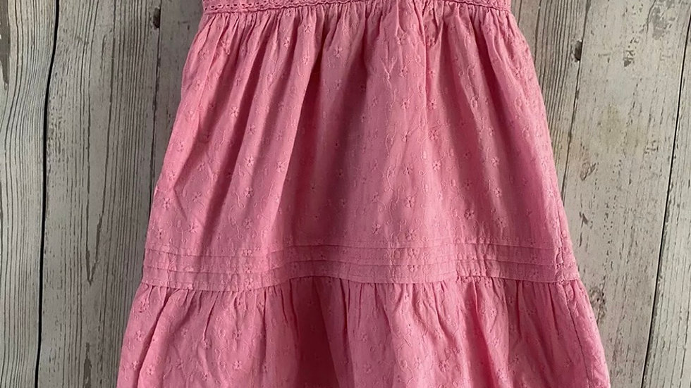 Baby Girls George Pink Dress Age 18-24 Months Immaculate Condition
