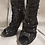 Thumbnail: Womens River Island Soft Material Sequence Boots Size 4 See Description