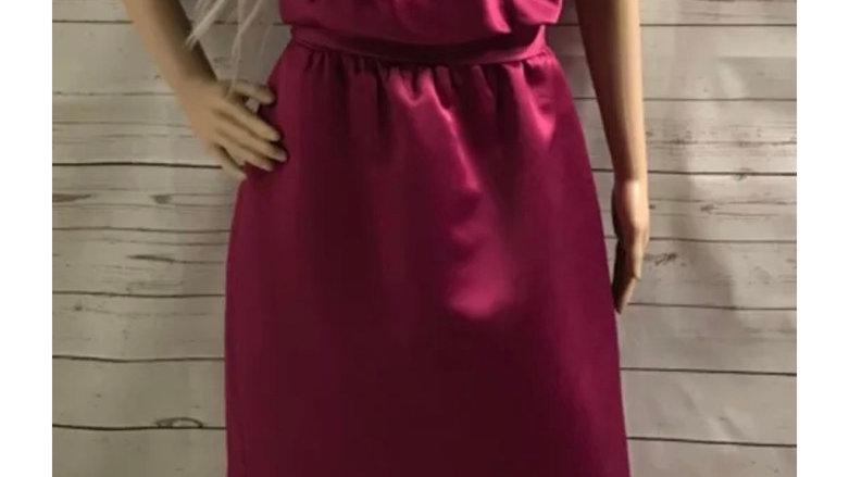 Women's / ladies purple bridesmaid dress size 10 excellent condition