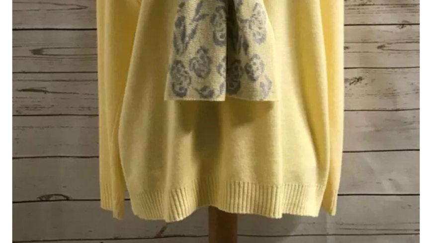 Women's / ladies yellow Glimpse jumper size M/L New