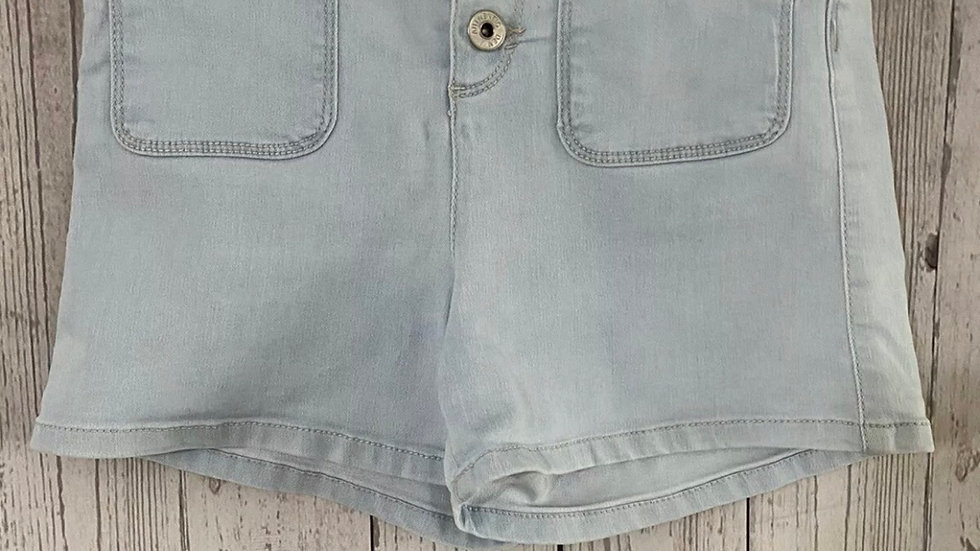 Girls New Look Blue Denim High waisted Shorts Age 13 Years Immaculate